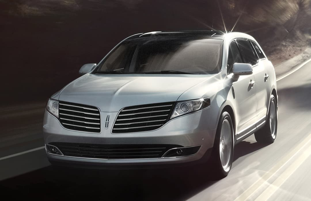 Lincoln MKT 2019 silver car