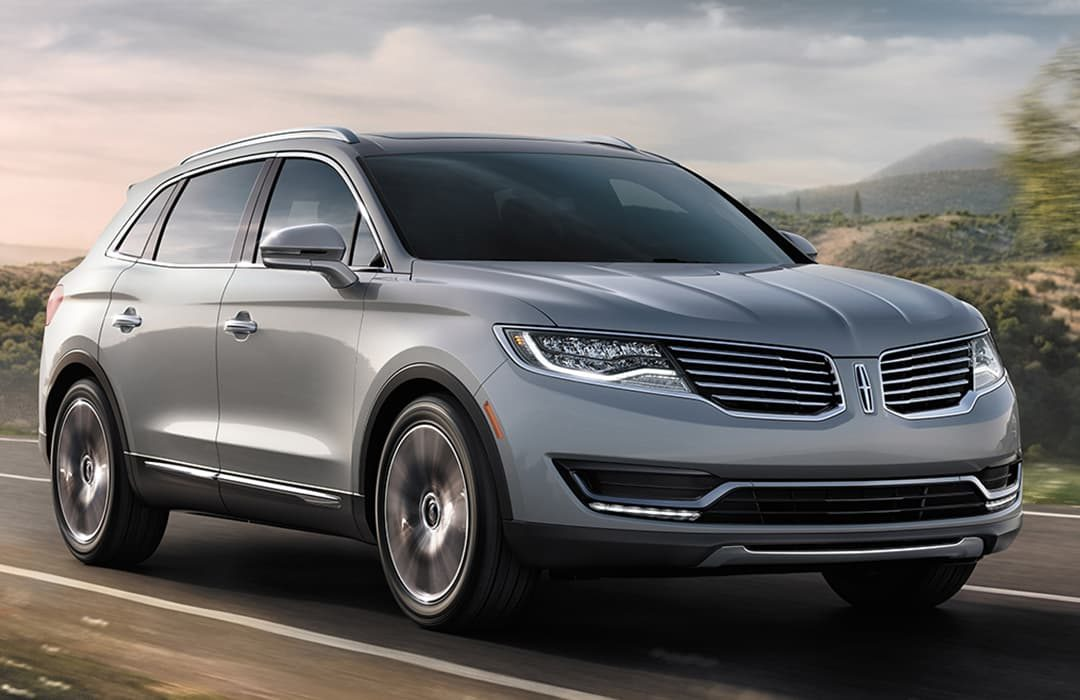 Lincoln MKX grey car