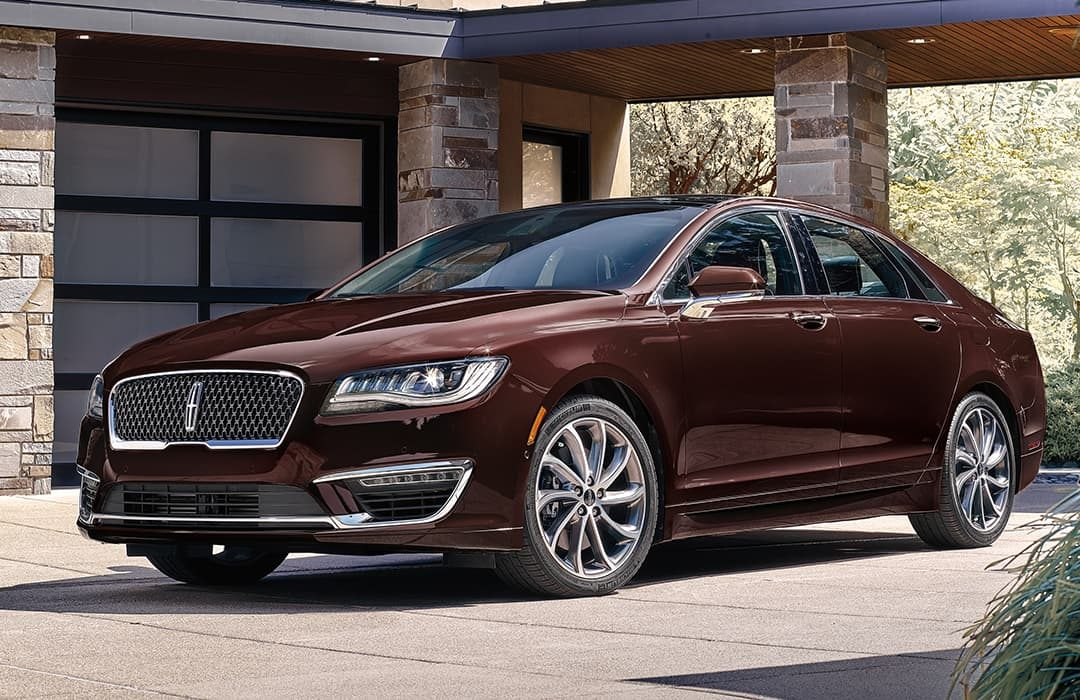 Lincoln MKZ 2020 red car