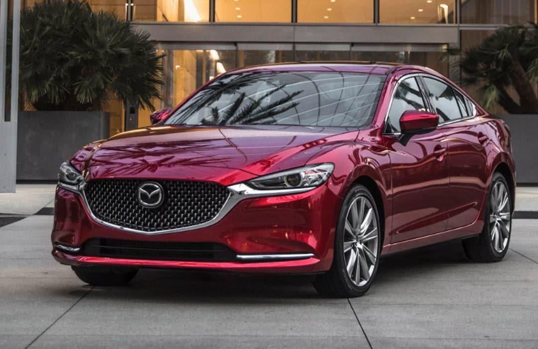 Mazda 6 2020 red car