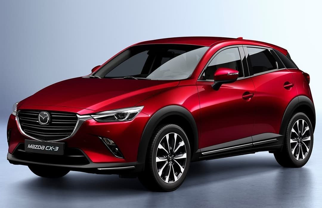Mazda CX-3 2019 red car
