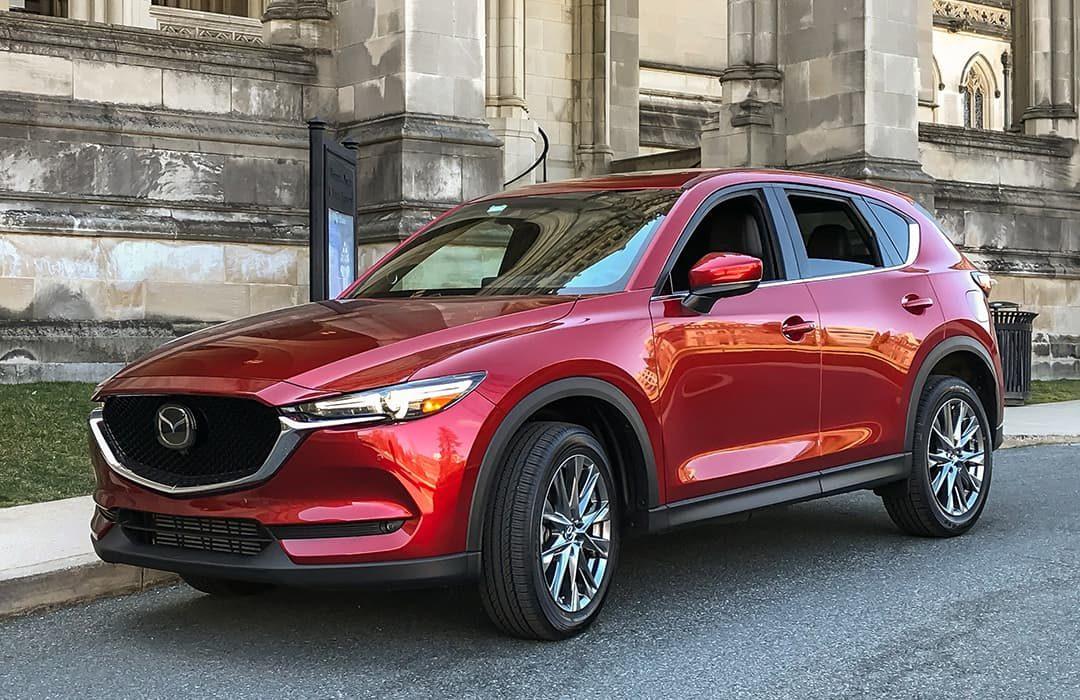 Mazda CX-5 2019 red car