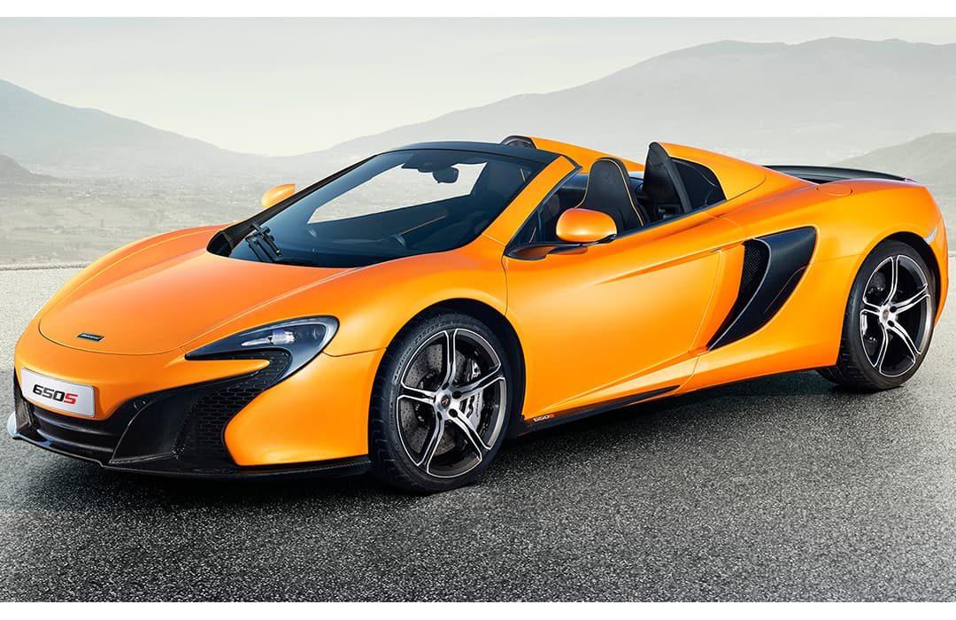 McLaren 650S orange car