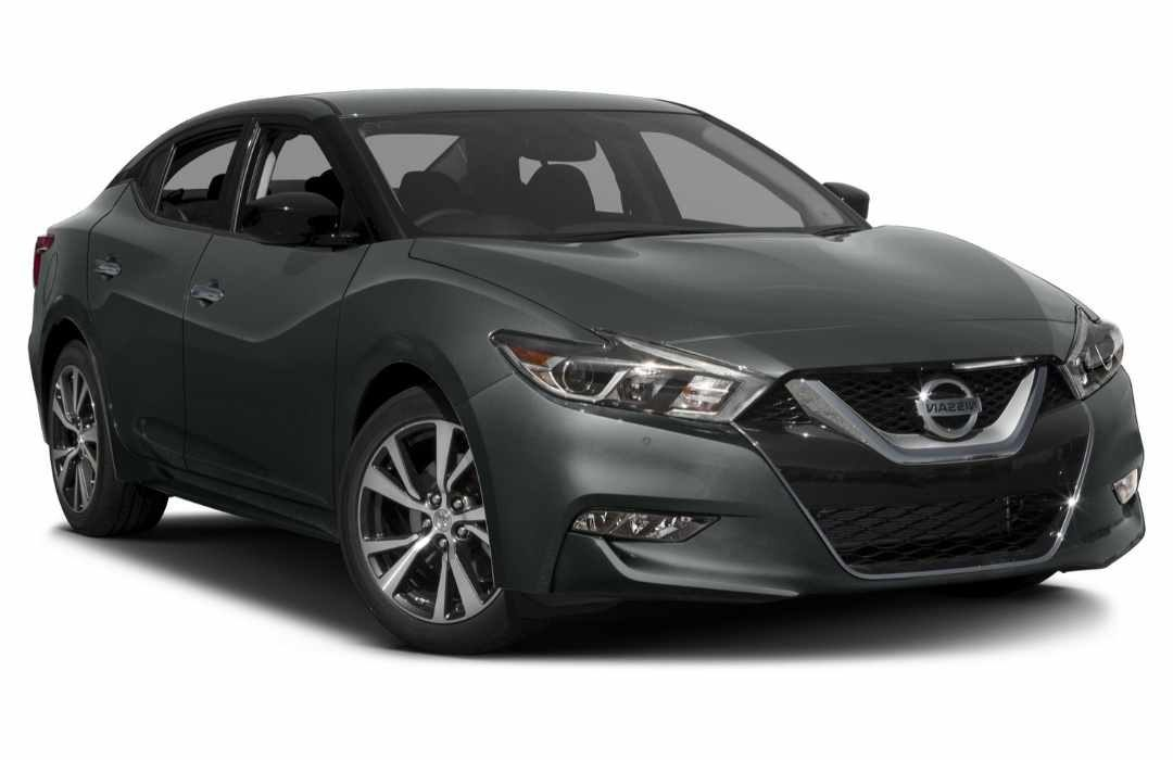 Dark Grey Nissan Maxima