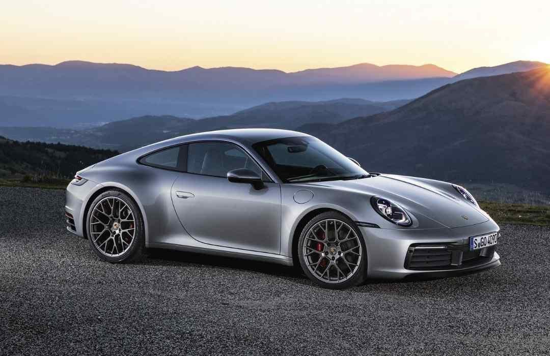 Grey Porsche 911
