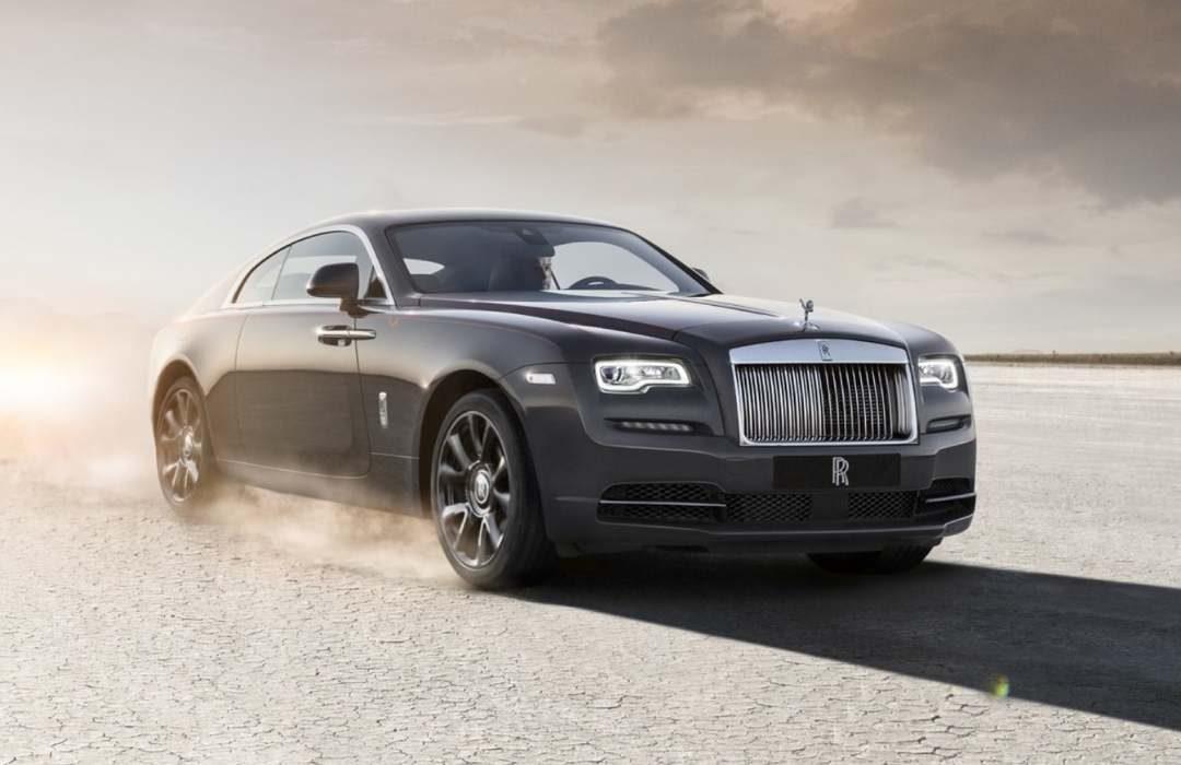 Dark Grey Rolls-Royce Wraith