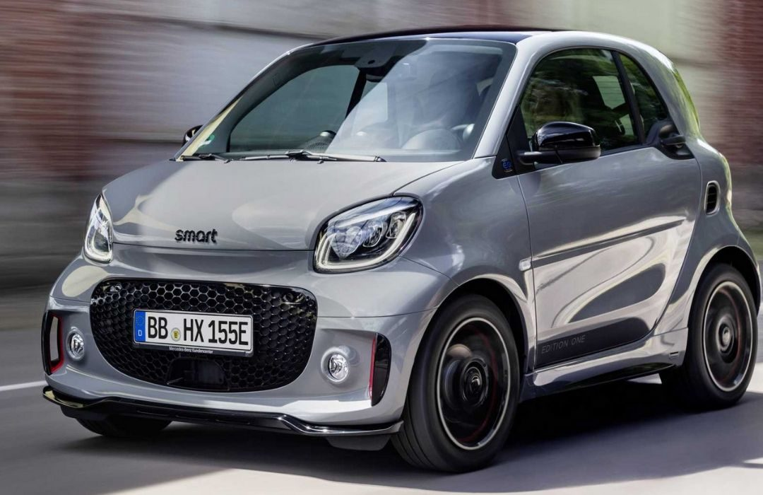 Grey Smart Fortwo