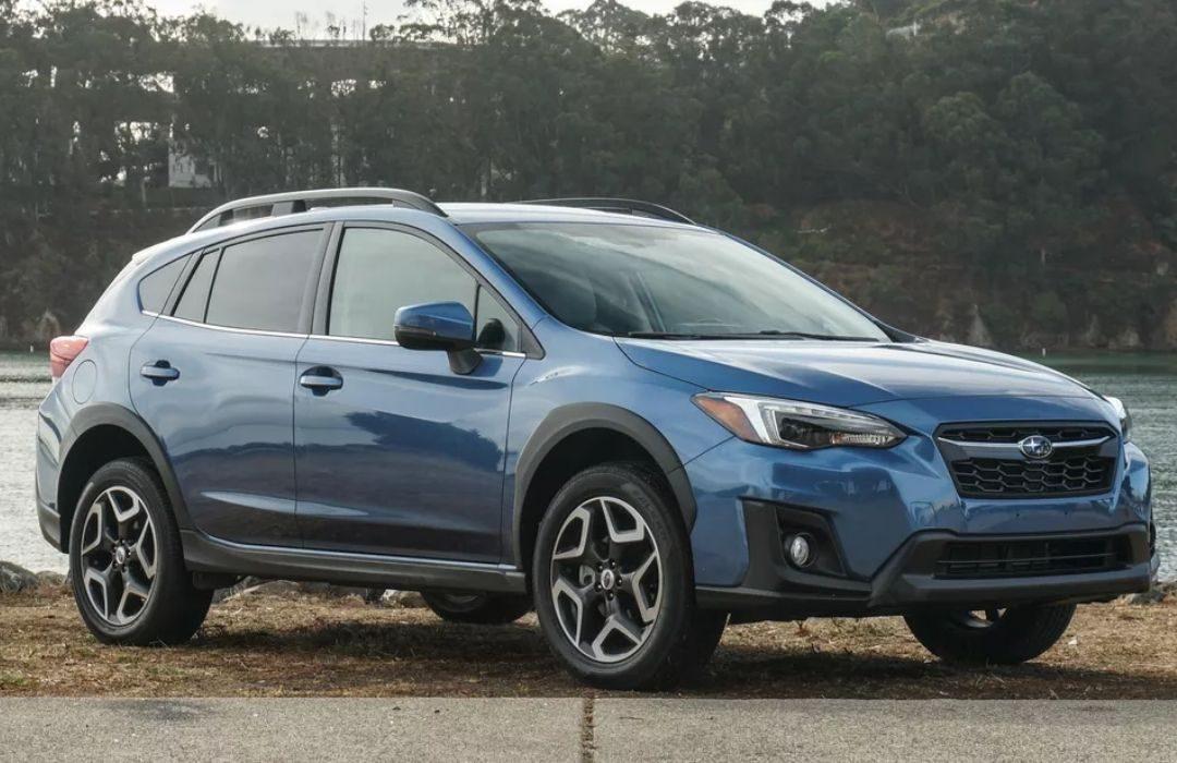 Blue Subaru Crosstrek