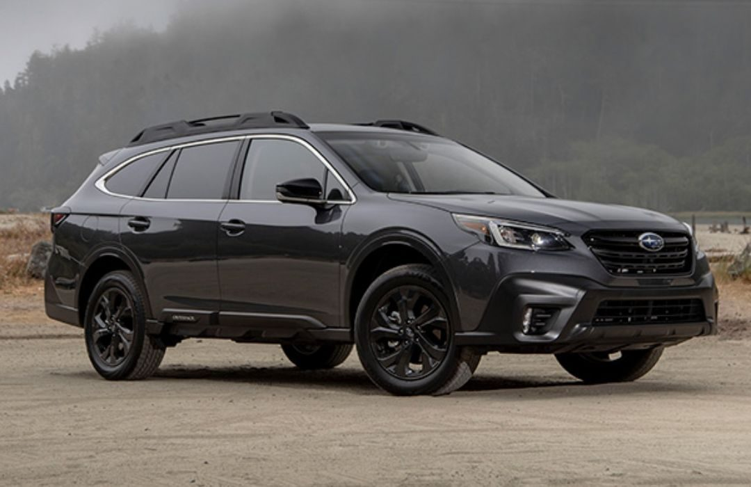 Black Subaru Outback