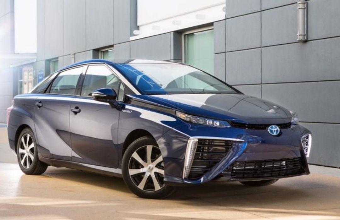 Dark Blue Toyota Mirai