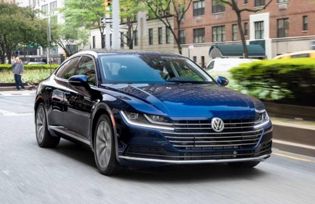 Dark Blue Volkswagen Arteon