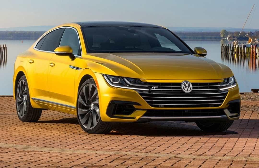 Yellow Volkswagen CC