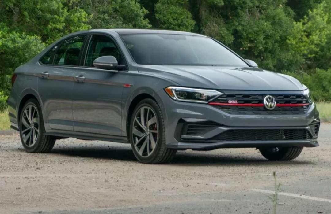 Dark Grey Volkswagen Jetta