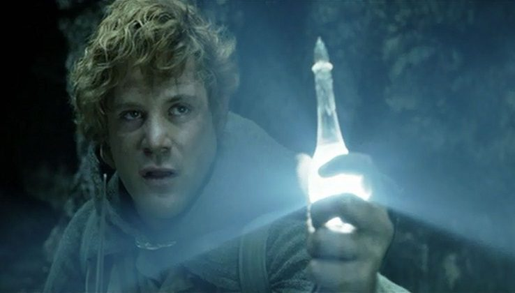 Samwise Gamgee with the light of Eärendil