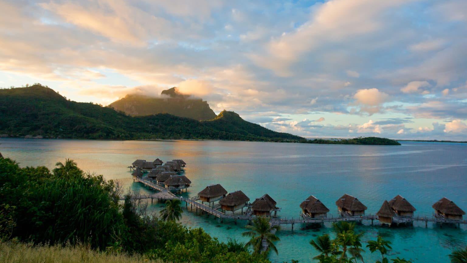 Pacfic island of bora bora, Tahiti