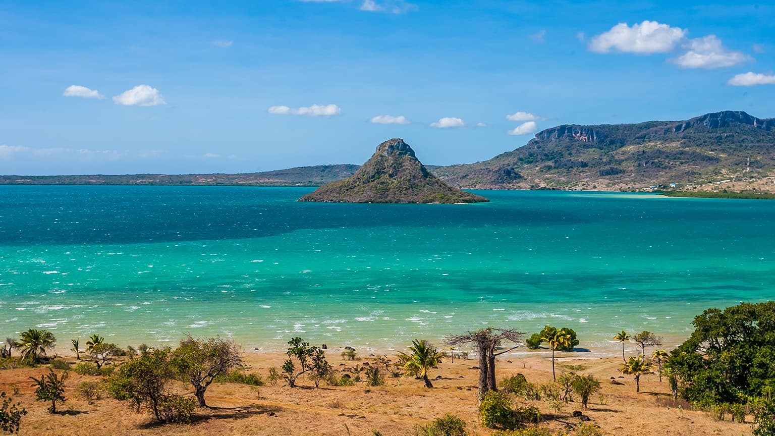 Sugarloaf of Antsiranana bay, northern Madagascar.