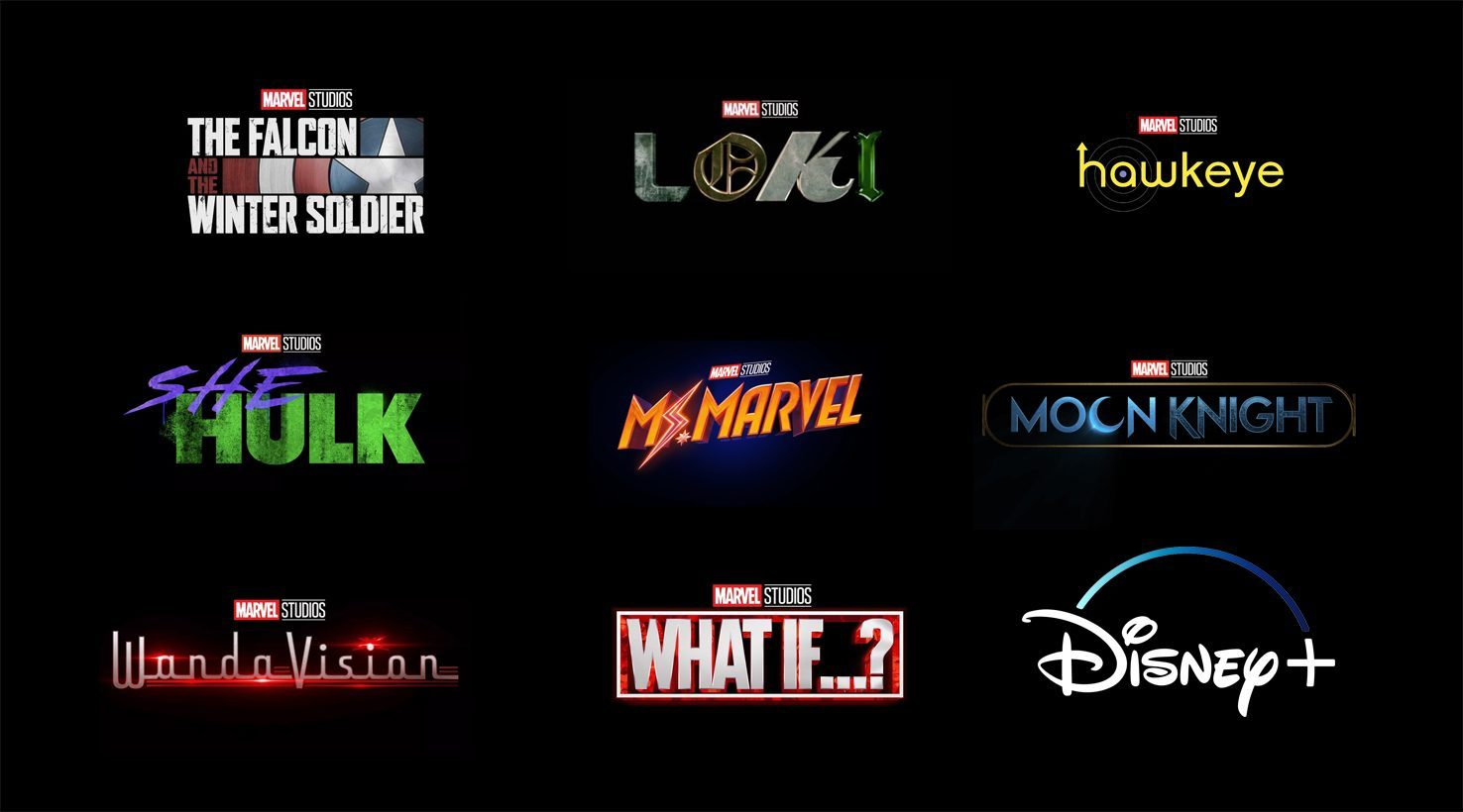 Disney+ Marvel Shows list