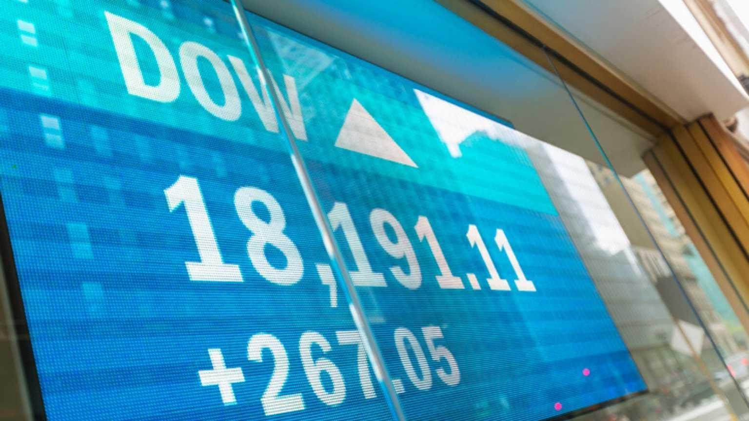 Dow Jones stock exchange