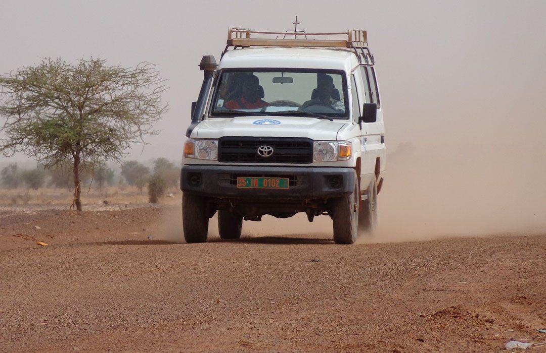 Humanitarian assistance truck