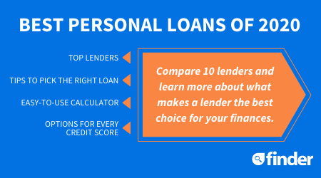 10 Best Personal Loans Updated For Covid 19 Finder Com