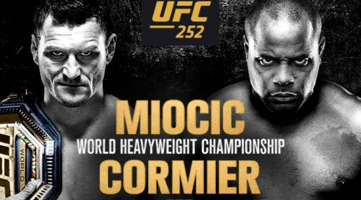 How to watch UFC 252 Miocic vs. Cormier live in the US