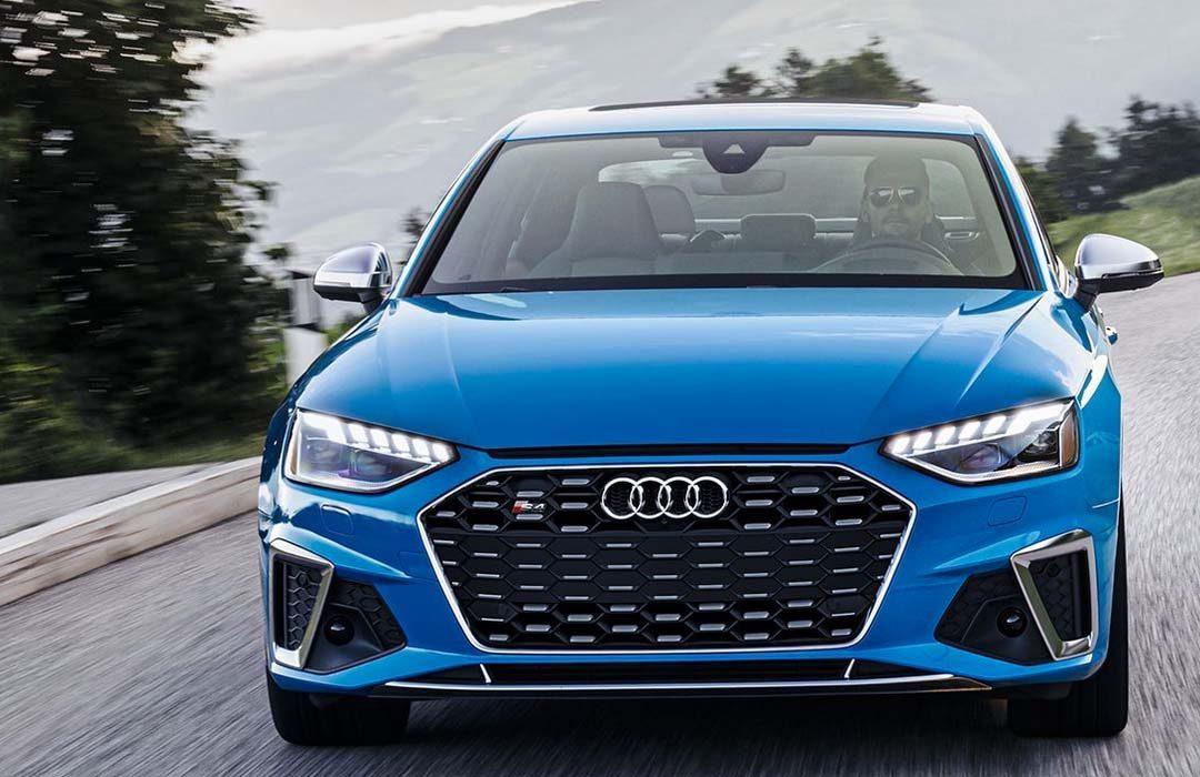 Blue Audi s4 2020