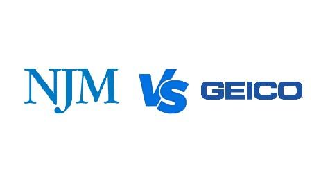 Compare NJM vs Geico car insurance