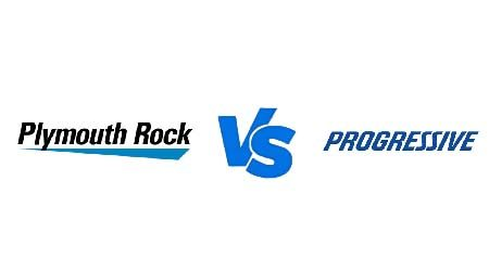 Compare Plymouth Rock vs Progressive car insurance