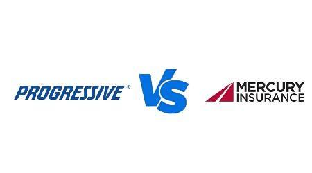 Compare Progressive vs Mercury car insurance