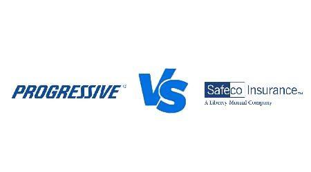 Compare Progressive vs Safeco car insurance