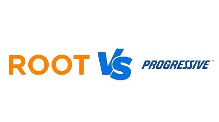 Compare Root vs Progressive car insurance