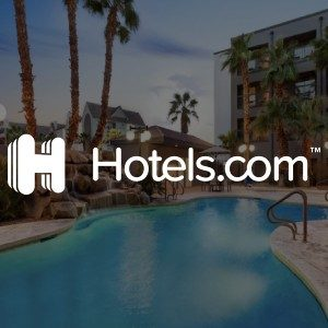 book on Hotels.com with PayPal
