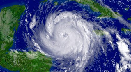 Which US states are hit most often by hurricanes?