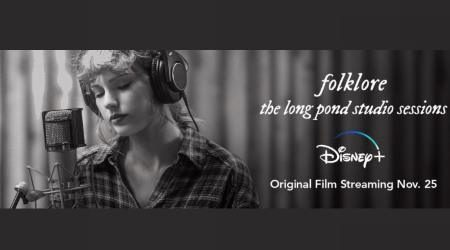 Taylor Swift surprises fans with Folklore concert launch on Disney+