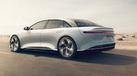 Lucid Air insurance rates