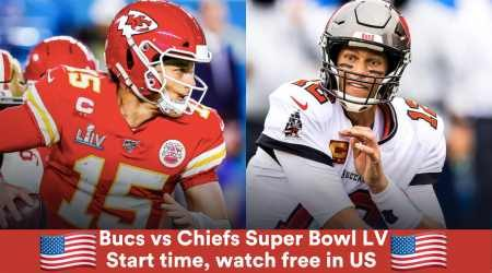 Super Bowl LV Tampa Bay vs. Kansas City: Start time and how to watch in the US