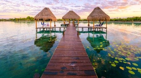 Best overwater bungalows in Mexico