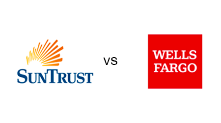 SunTrust vs. Wells Fargo mortgages