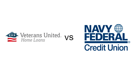 Veterans United vs. Navy Federal Credit Union mortgages