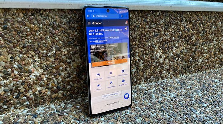 Samsung Galaxy A71 Review Finder