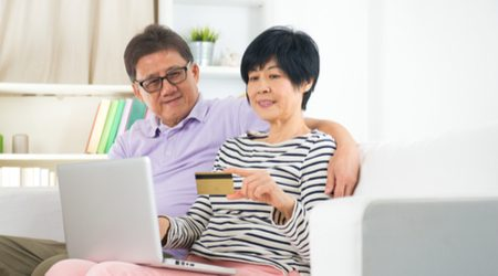 Credit cards for retired applicants