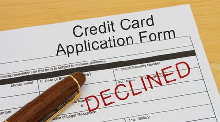 Why was my credit card application rejected?