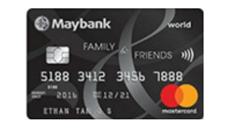 Maybank Family & Friends Card Review