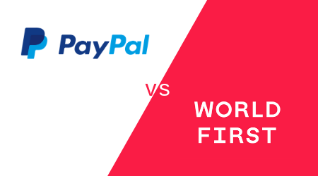 WorldFirst vs PayPal