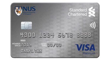 Standard Chartered NUS Alumni Platinum Credit Card Review