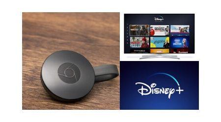 How to watch Disney+ on Google Chromecast