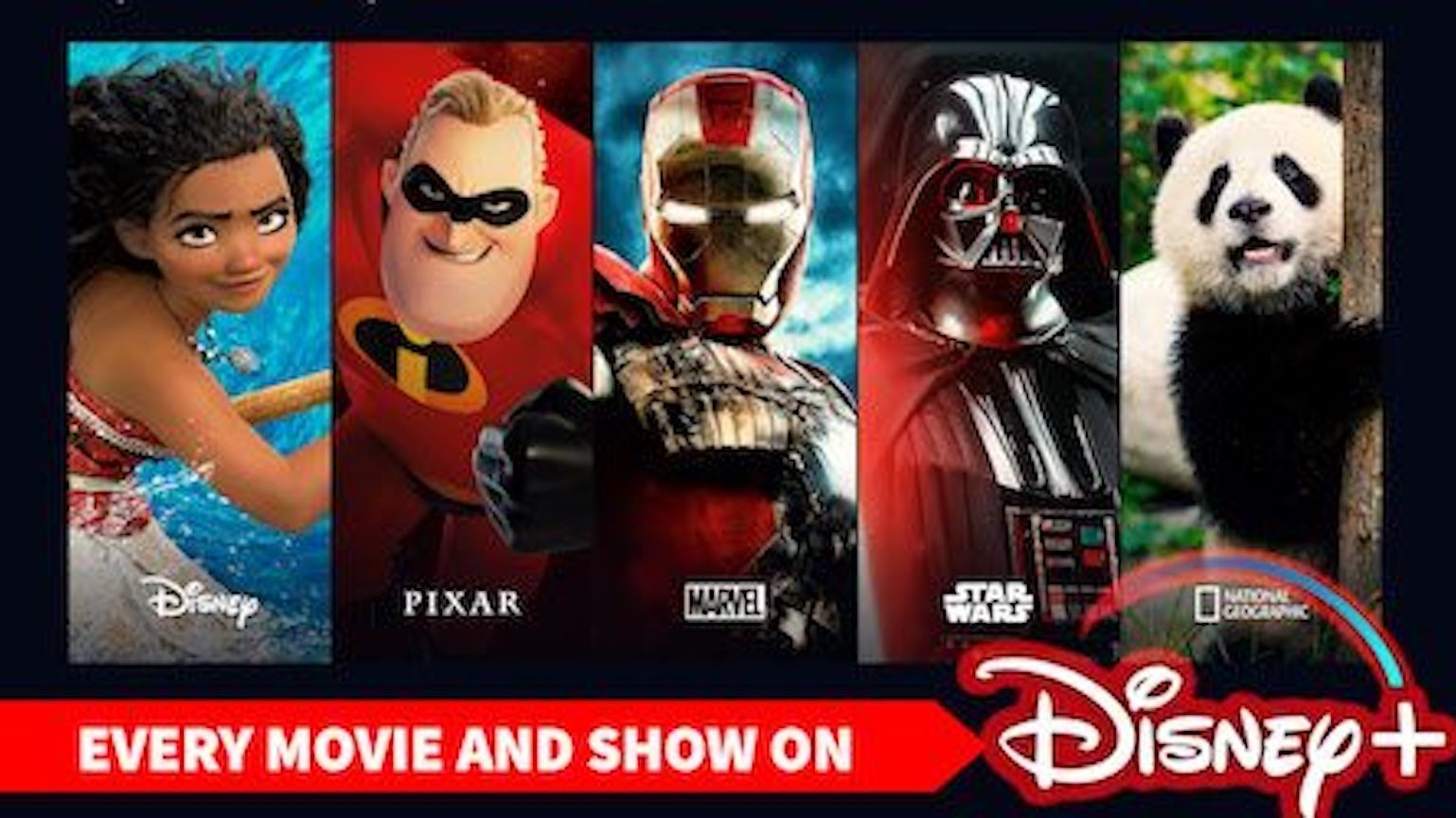 List of Disney+ Movies and Shows