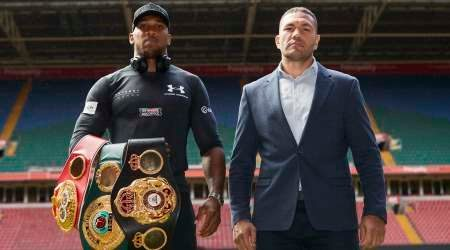 Watch heavyweight world champion Anthony Joshua vs Kubrat Pulev live