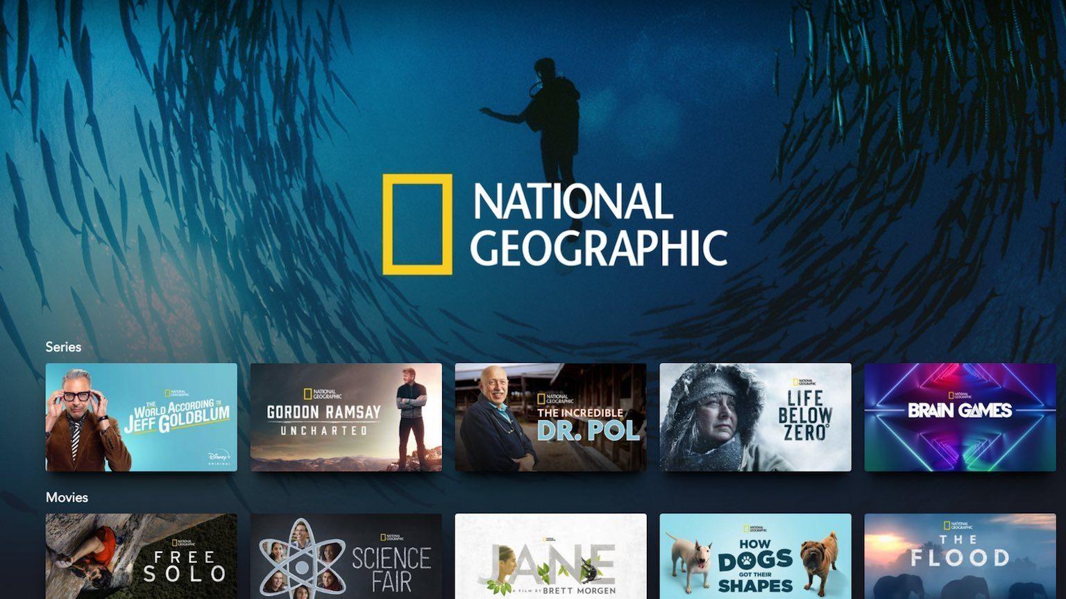 Disney+ National Geographic