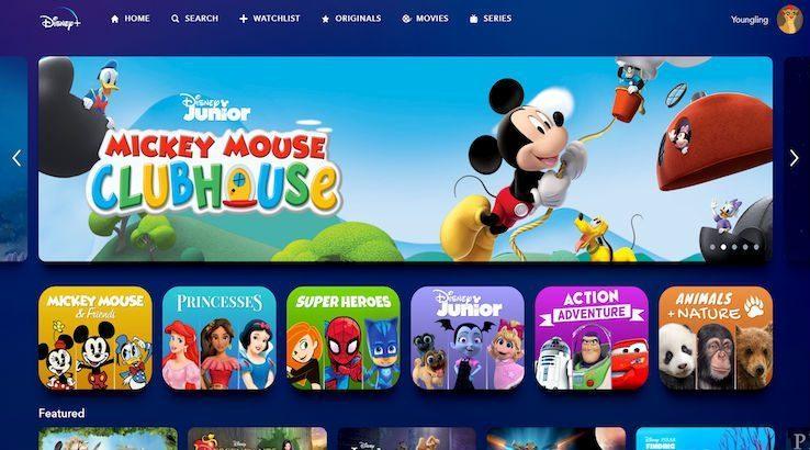 Profil Enfants Disney+